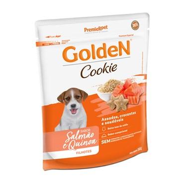 Petisco Golden Cookie para Cães Filhotes Sabor Salmão e Quinoa 350 g
