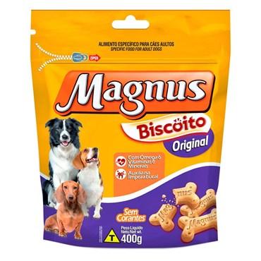 Petisco Magnus Biscoito Original para Cães 400g