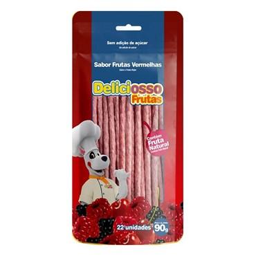 Petisco Ossinho Deliciosso para Cães Sabor Frutas Vermelhas  90g