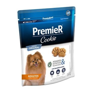 Petisco Premier Cookie Para Cães Adultos de Raças Pequenas 250g
