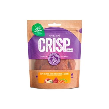 Petisco Super Premium Natural Crisp Para Cães Angus, Batata Doce, Cenoura e Alecrim
