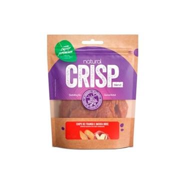 Petisco Super Premium Natural Crisp Para Cães Chips de Frango e Batata Doce