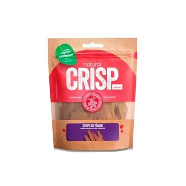 Petisco Super Premium Natural Crisp Para Cães Strips de Fígado