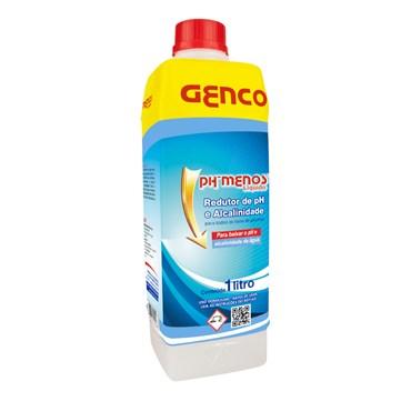 Ph Menos Redutor de Ph Para Piscina 1 Litro - Genco