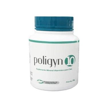 Poligyn 10 Suplemento Mineral Vitamínico Para Cães 800mg 30 Comprimidos - Nutripharme