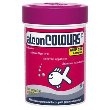 Ração Alcon Colours Para Peixes 20g