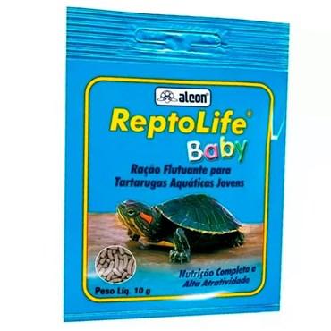 Ração Alcon Reptolife Baby Tartaruga Filhote 10g