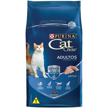 Ração Cat Chow para Gatos Adultos Sabor Peixe 10,1 kg