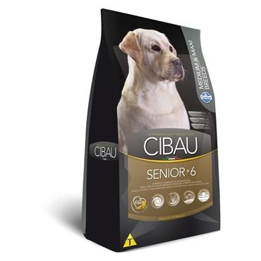 Ração Cibau Para Cães Senior 6+ de Raças Médias e Grandes Medium & Maxi 12kg