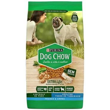 Ração Dog Chow Light Cães Adultos Sabor Frango e Arroz 15kg