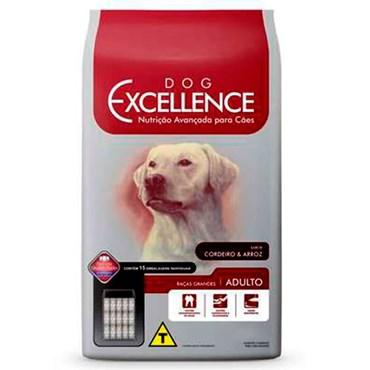 Ração Dog Excellence Cães Adultos Raças Grandes Cordeiro e Arroz 15 kg