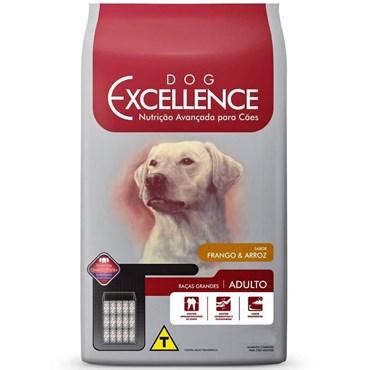 Ração Dog Excellence Cães Adultos Raças Grandes Frango e Arroz 15 kg