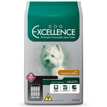 Ração Dog Excellence Cães Adultos Raças Pequenas Frango e Arroz 1,5 kg