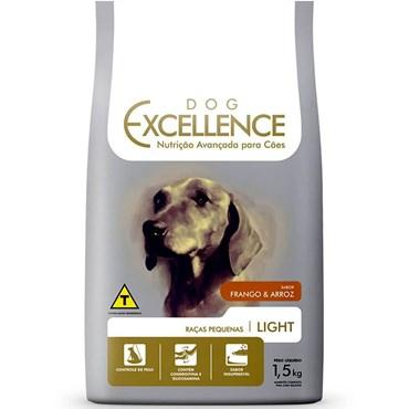 Ração Dog Excellence Cães Adultos Raças Pequenas Light 1,5 kg