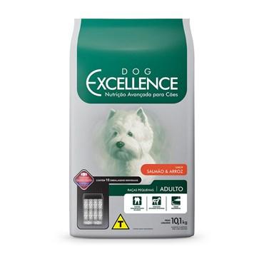 Ração Dog Excellence Cães Adultos Raças Pequenas Salmão e Arroz 10,1 kg