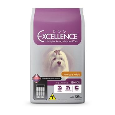 Ração Dog Excellence Cães Sênior Raças Pequenas Frango e Arroz 10,1 kg