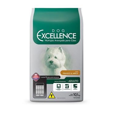 Ração Dog Excellence para Cães Adultos Raças Pequenas Sabor Frango e Arroz 10,1 kg