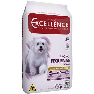 Ração Dog Excellence para Cães Sênior Raças Pequenas Sabor Frango e Arroz 10,1 kg