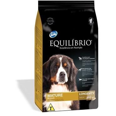 Ração Equilíbrio Mature Longevity para Cães Adultos  15kg