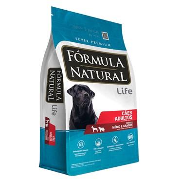 Ração Fórmula Natural Cães Adultos Porte Médio e Grande 15kg