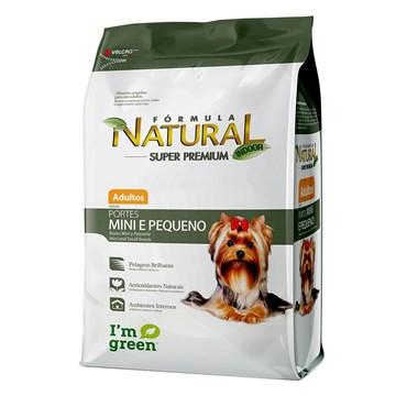 Ração Fórmula Natural Cães Adultos Porte Pequeno e Mini 1kg