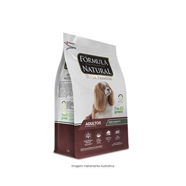 Ração Fórmula Natural Cães Adultos Porte Pequeno e Mini 2,5kg