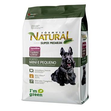 Ração Fórmula Natural Cães Adultos Sensitive Porte Pequeno e Mini 1kg