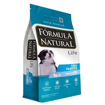 Ração Fórmula Natural Cães Filhotes Porte Pequeno e Mini 7kg