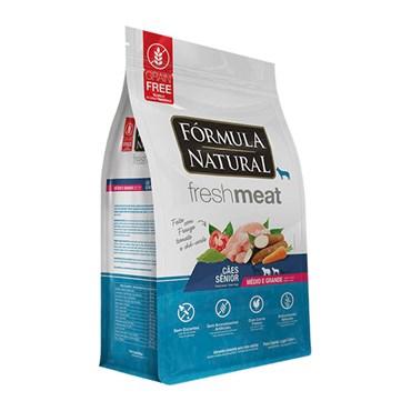 Ração Fórmula Natural Fresh Meat Cães Sênior de Raças Médias e Grandes
