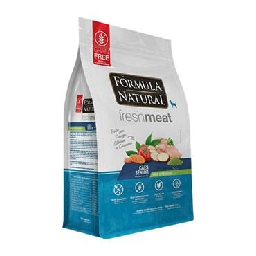 Ração Fórmula Natural Fresh Meat Cães Sênior de Raças Mini e Pequenas