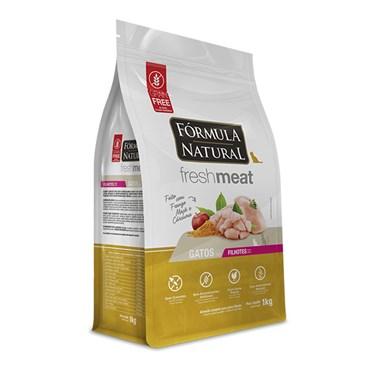 Ração Fórmula Natural Fresh Meat Gatos Filhotes Sabor Frango 1kg