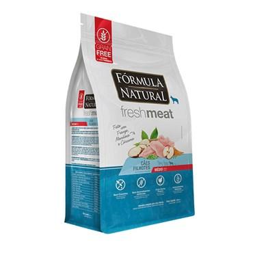 Ração Fórmula Natural Fresh Meat para Cães Filhotes de Raças Médias
