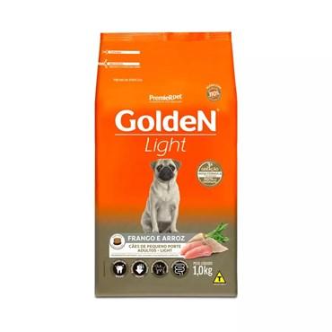 Ração Golden Fórmula Light Mini Bits Cães Adultos Raças Pequenas Sabor Frango e Arroz