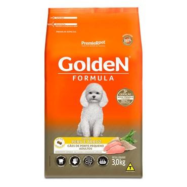 Ração Golden Fórmula Mini Bits Cães Adultos Raças Pequenas Sabor Peru e Arroz