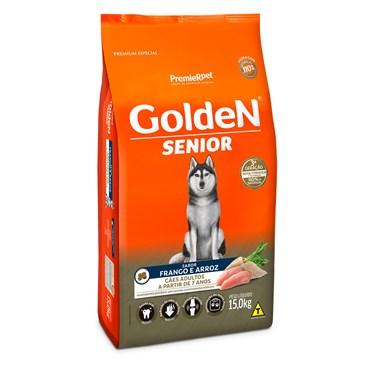 Ração Golden Fórmula Para Cães Sênior Sabor Frango e Arroz 15kg