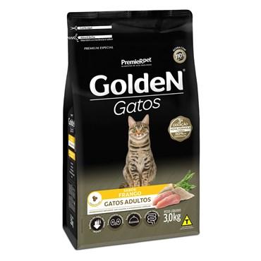 Ração Golden Para Gatos Adultos Sabor Frango