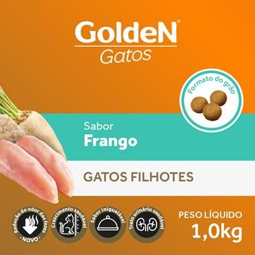 Ração Golden Para Gatos Filhotes Sabor Frango