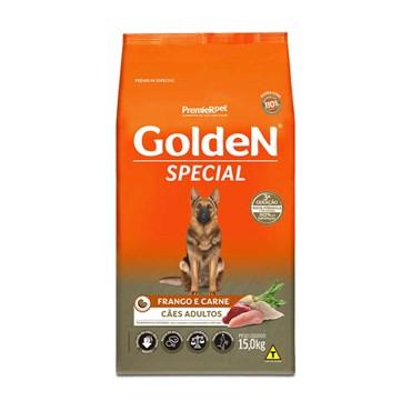 Ração Golden Special Para Cães Adultos Sabor Frango e Carne