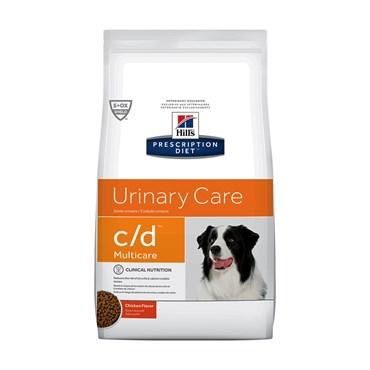 Ração Hills Canin C/D para Cães Adultos Urinary Care para Cuidados Unirários