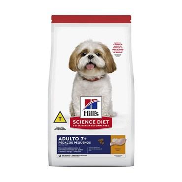Ração Hills Canin Cães Adultos 7+ Pedaços Pequenos