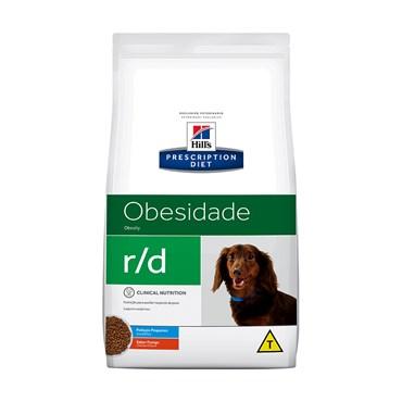 Ração Hills Canine Cães Adultos R/D Obesity Obesidade Pedaços Pequenos 1,5kg