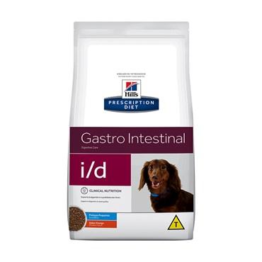 Ração Hills I/D Cães Adultos Digestive Care Gastro Intestinal Pedaços Pequenos 2kg
