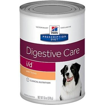 Ração Hills Prescription Diet  I/D Para Cães Adultos Cuidado Digestivo Lata 370g