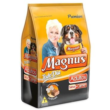 Ração Magnus Todo Dia para Cães Adultos Sabor Carne 25kg