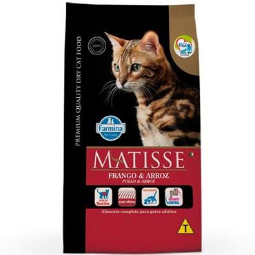 Ração Matisse Para Gatos Adultos Sabor Frango e Arroz