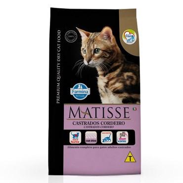 Ração Matisse Para Gatos Castrados Sabor Cordeiro