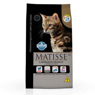 Ração Matisse Para Gatos Castrados Sabor Frango