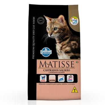 Ração Matisse Para Gatos Castrados Sabor Salmão