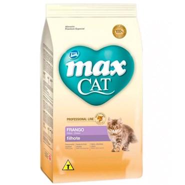 Ração Max Cat Professional Line para Gatos Filhotes sabor Frango 1kg