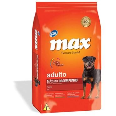Ração Max Premium Especial Cães Adultos Máximo Desempenho 20kg